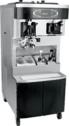 A Taylor C606 milkshake soft serve equipment