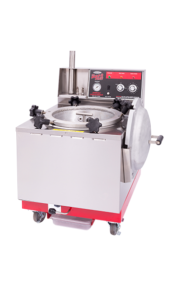 A Smokaroma pressure smoker equipment