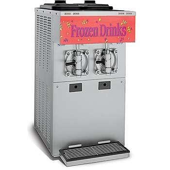 A Taylor two flavor frozen beverage equipment