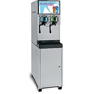 A two flavor Frozen carbonated Beverage equipment