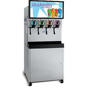 A five flavor Frozen carbonated Beverage equipment