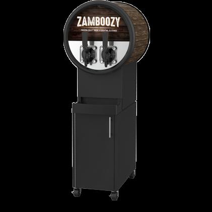 A zamboozy cocktail frezer equipment